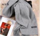 韩版纯色围巾(仿羊绒)